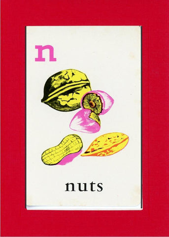 N is for Nuts - PLYMOUTH CARD COMPANY  - 6