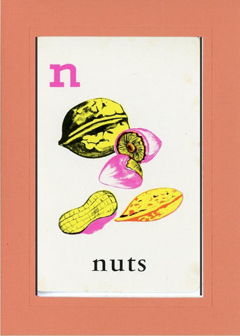 N is for Nuts - PLYMOUTH CARD COMPANY  - 11