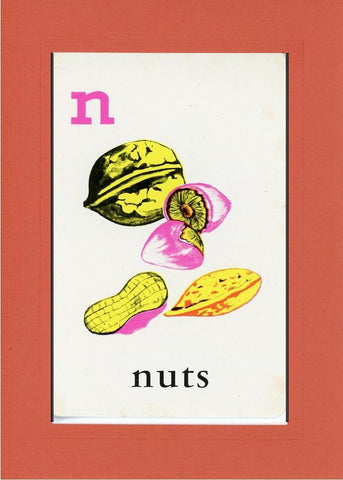 N is for Nuts - PLYMOUTH CARD COMPANY  - 8
