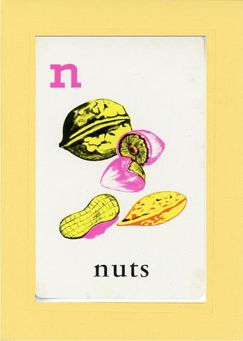 N is for Nuts - PLYMOUTH CARD COMPANY  - 3