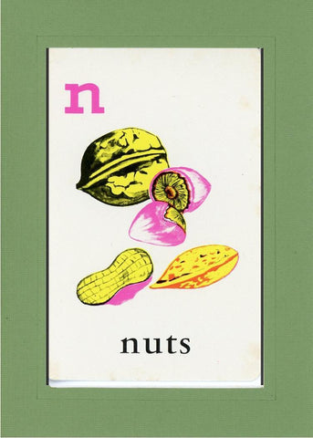 N is for Nuts - PLYMOUTH CARD COMPANY  - 7