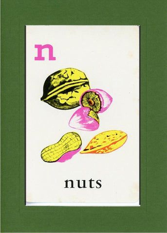 N is for Nuts - PLYMOUTH CARD COMPANY  - 9