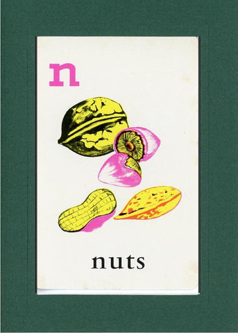 N is for Nuts - PLYMOUTH CARD COMPANY  - 10