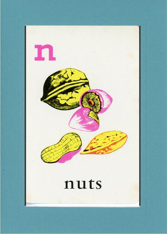 N is for Nuts - PLYMOUTH CARD COMPANY  - 12