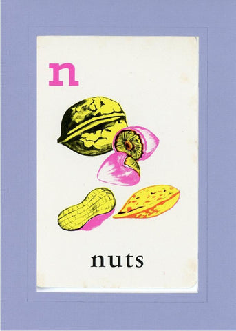 N is for Nuts - PLYMOUTH CARD COMPANY  - 19