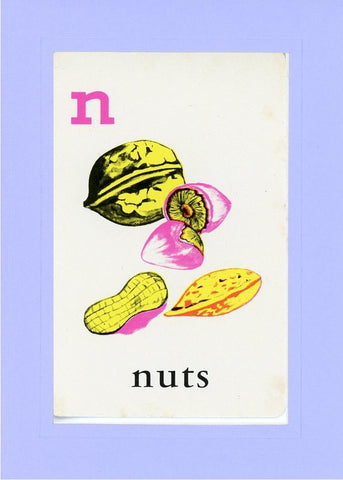 N is for Nuts - PLYMOUTH CARD COMPANY  - 18