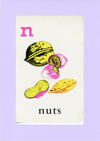 N is for Nuts - PLYMOUTH CARD COMPANY  - 15