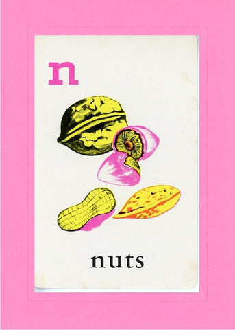 N is for Nuts - PLYMOUTH CARD COMPANY  - 4