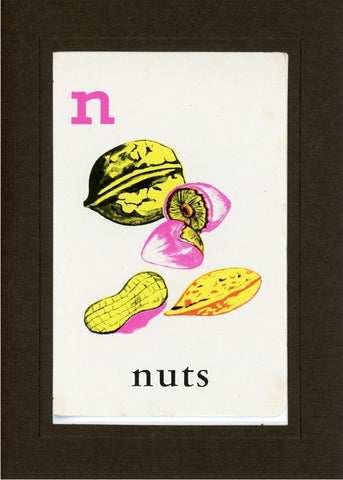 N is for Nuts - PLYMOUTH CARD COMPANY  - 13