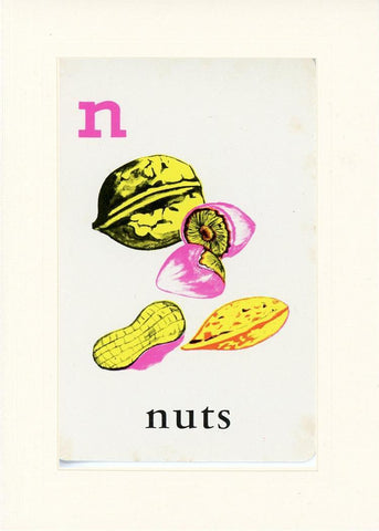 N is for Nuts - PLYMOUTH CARD COMPANY  - 17