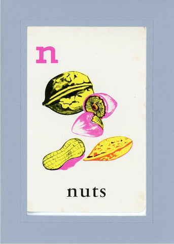 N is for Nuts - PLYMOUTH CARD COMPANY  - 16