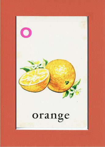 O is for Orange - PLYMOUTH CARD COMPANY  - 8