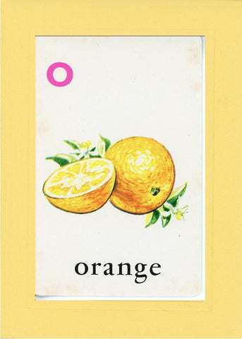 O is for Orange - PLYMOUTH CARD COMPANY  - 3