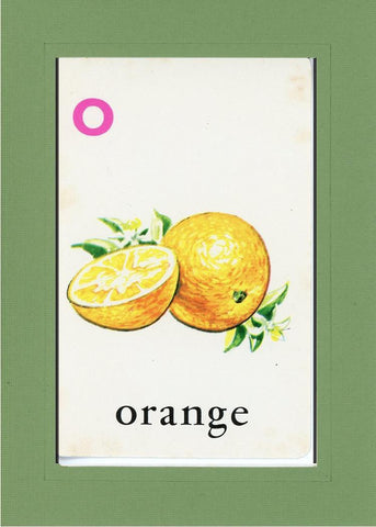 O is for Orange - PLYMOUTH CARD COMPANY  - 7