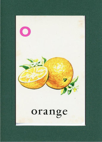 O is for Orange - PLYMOUTH CARD COMPANY  - 10
