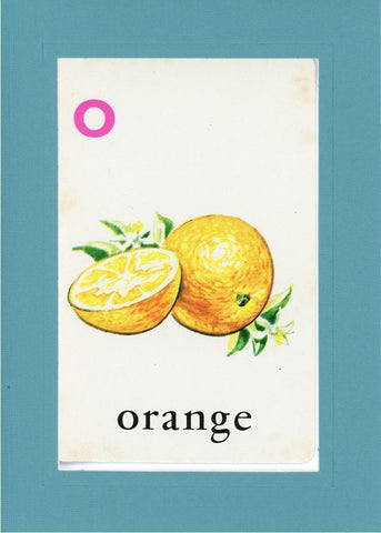 O is for Orange - PLYMOUTH CARD COMPANY  - 11