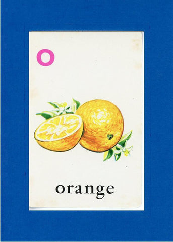 O is for Orange - PLYMOUTH CARD COMPANY  - 5