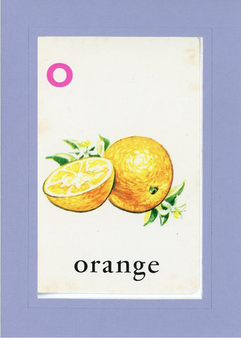 O is for Orange - PLYMOUTH CARD COMPANY  - 17