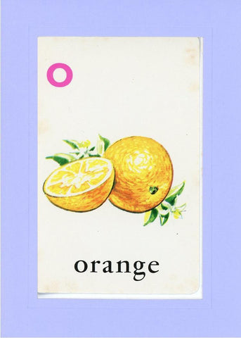 O is for Orange - PLYMOUTH CARD COMPANY  - 18