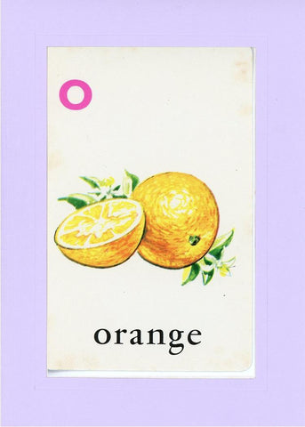 O is for Orange - PLYMOUTH CARD COMPANY  - 14
