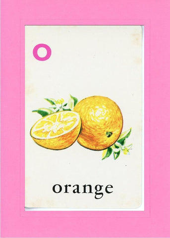 O is for Orange - PLYMOUTH CARD COMPANY  - 4