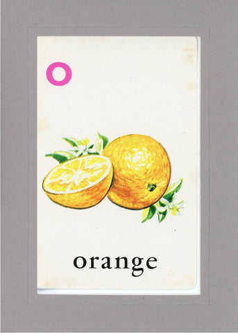 O is for Orange - PLYMOUTH CARD COMPANY  - 13