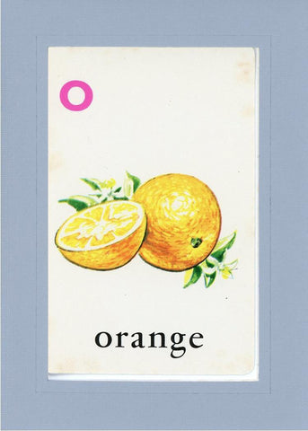 O is for Orange - PLYMOUTH CARD COMPANY  - 15