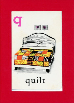 Q is for Quilt - PLYMOUTH CARD COMPANY  - 6