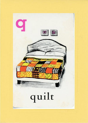 Q is for Quilt - PLYMOUTH CARD COMPANY  - 3