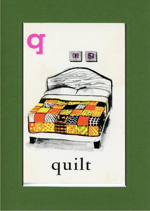 Q is for Quilt - PLYMOUTH CARD COMPANY  - 9