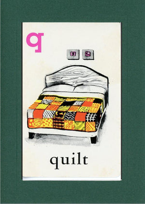 Q is for Quilt - PLYMOUTH CARD COMPANY  - 10
