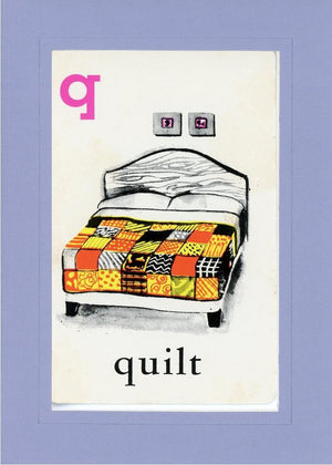 Q is for Quilt - PLYMOUTH CARD COMPANY  - 18