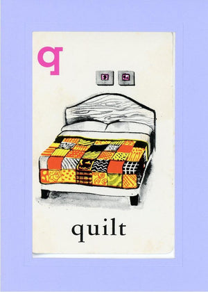 Q is for Quilt - PLYMOUTH CARD COMPANY  - 19