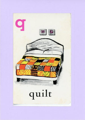 Q is for Quilt - PLYMOUTH CARD COMPANY  - 15