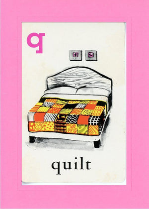 Q is for Quilt - PLYMOUTH CARD COMPANY  - 4