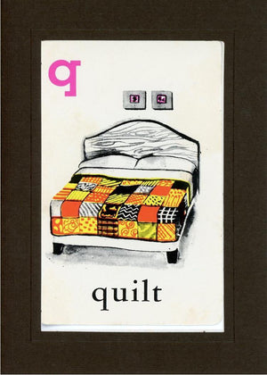 Q is for Quilt - PLYMOUTH CARD COMPANY  - 13