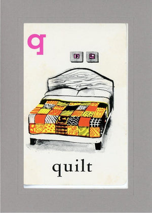 Q is for Quilt - PLYMOUTH CARD COMPANY  - 14