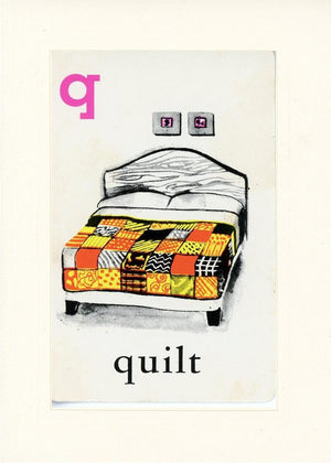 Q is for Quilt - PLYMOUTH CARD COMPANY  - 17