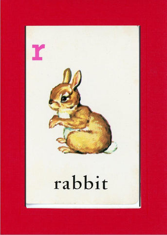 R is for Rabbit - PLYMOUTH CARD COMPANY  - 5