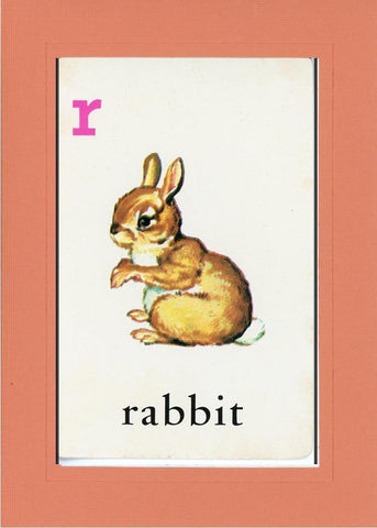 R is for Rabbit - PLYMOUTH CARD COMPANY  - 10