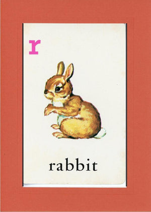 R is for Rabbit - PLYMOUTH CARD COMPANY  - 7