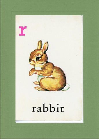 R is for Rabbit - PLYMOUTH CARD COMPANY  - 6