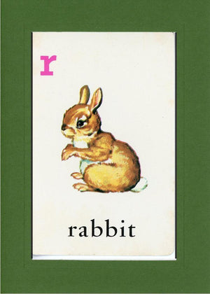 R is for Rabbit - PLYMOUTH CARD COMPANY  - 8