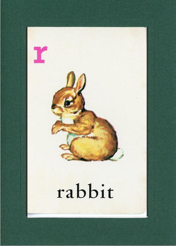 R is for Rabbit - PLYMOUTH CARD COMPANY  - 9