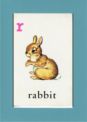R is for Rabbit - PLYMOUTH CARD COMPANY  - 11