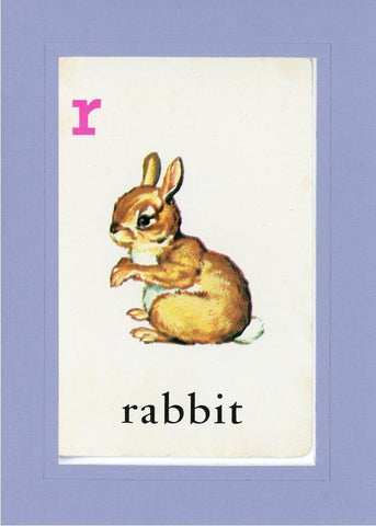 R is for Rabbit - PLYMOUTH CARD COMPANY  - 17