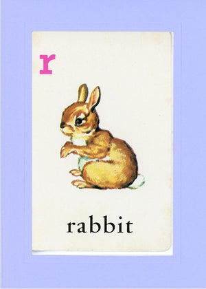 R is for Rabbit - PLYMOUTH CARD COMPANY  - 18