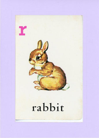 R is for Rabbit - PLYMOUTH CARD COMPANY  - 14