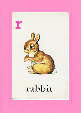 R is for Rabbit - PLYMOUTH CARD COMPANY  - 4
