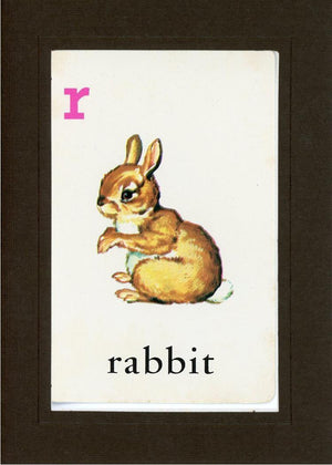 R is for Rabbit - PLYMOUTH CARD COMPANY  - 12